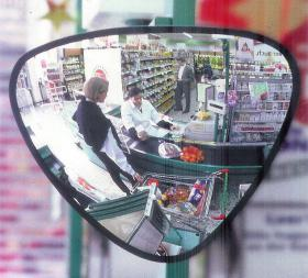 Mirror for checkouts
