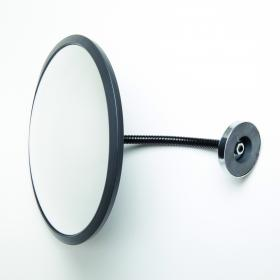 Mirror with magnetic fixing