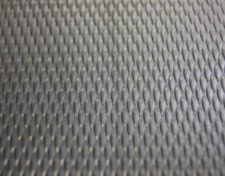 Patterned stainless steel sheet rigidized 5WL