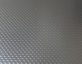 Patterned stainless steel sheets linen