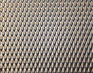 Patterned Stainless Steel Wotra